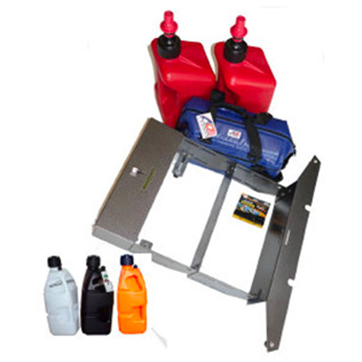 Deluxe RZ Plate, Two RAX B, 2 Jugs, and 24-pack AO Cooler